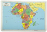 Painless Learning Africa Map Placemat
