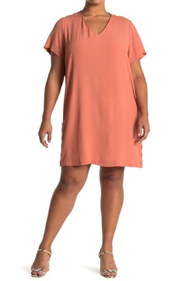 Madewell Side Button Easy Dress (Regular & Plus Size)