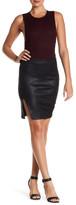 Bella Luxx Coated Neoprene Skirt