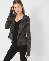 White House Black Market Marled-Knit Jacket