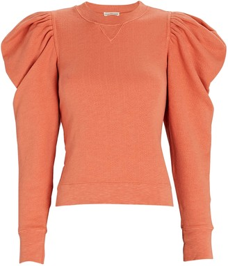 Ulla Johnson Allair Balloon Sleeve Sweatshirt