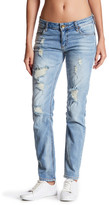 KUT from the Kloth Catherine Distressed Boyfriend Jean
