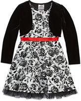 Knitworks Knit Works Long Sleeve Dress Set - Preschool Girls