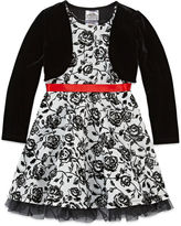 Knitworks Knit Works Long Sleeve Dress Set - Preschool
