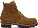 Visvim Brown Folk Zermatt Boots