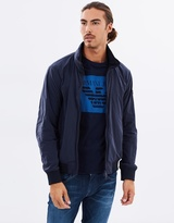 Armani Jeans Hooded Bomber Jacket