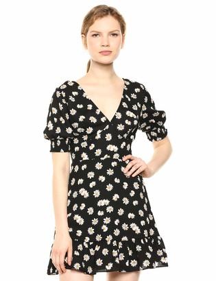 Ali & Jay Women's Flower Child Short Sleeve Fit & Flare Mini Dress