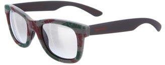 Italia Independent Velvet Striped Sunglasses w/ Tags