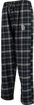 Unbranded Men's Concepts Sport Navy/Gray San Diego Padres Ultimate Plaid Flannel Pants