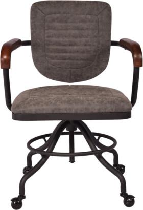 Alliance Furniture Martin Desk Chair Vintage Grey