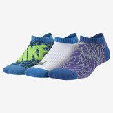 Nike Graphic No-Show Big Kids' Socks