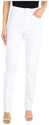 FDJ French Dressing Jeans Sunset Hues Denim Suzanne Straight Leg in White (White) Women's Jeans