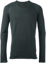 Label Under Construction crew neck jumper - men - Cotton - 48