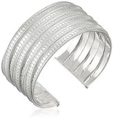 """Anna Beck Designs Timor Sterling Silver Large Twisted Cuff, 2.25"""""""