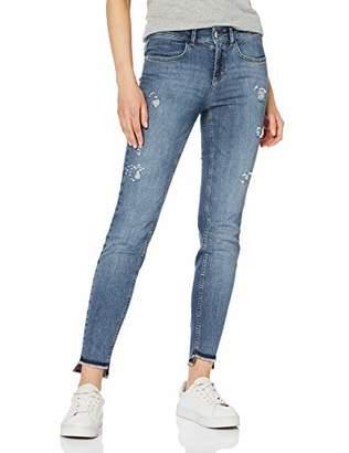 Comma Women's 81.904.72.5041 Slim Jeans, (Blue Denim Stretch 58z7)