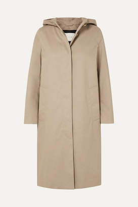 MACKINTOSH Chryston Hooded Bonded Cotton Trench Coat - Beige