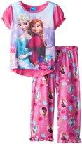 Disney Frozen Little Girls' 2 Piece Pajama set