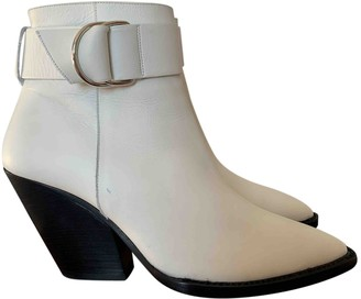 IRO Spring Summer 2019 White Leather Boots