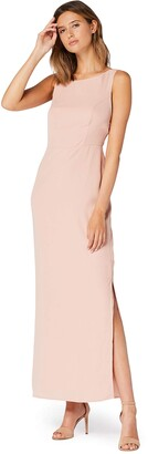 Amazon Brand - TRUTH & FABLE Women's Maxi Tie Back Dress