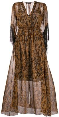 Antonelli All-Over Print Dress