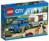 Lego City 60117 Van And Caravan
