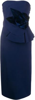 Le Petite Robe Di Chiara Boni Hebe strapless midi dress