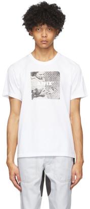AFFIX White Radio T-Shirt
