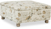 Carlyle Cocktail Square Ottoman, Quick Ship