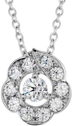 Hearts On Fire 18K 0.50 Ct. Tw. Diamond Lorelei Bloom Pendant Necklace