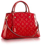 Louis Vuitton Montaigne MM Monogram Vernis Leather Handbag Article: M50167 Made in France