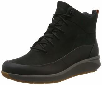 Clarks Un Venturehi. Womens Ankle Boots