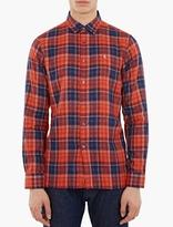 Raf Simons Red Check Long-Sleeved Shirt