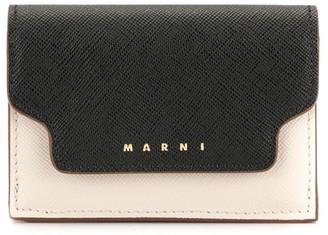 Marni tri-fold mini wallet