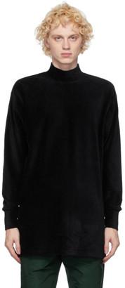 Landlord Black Knit Turtleneck Sweater