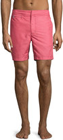 Robert Graham Ocean Classic Fit Swim Trunks, Raspberry