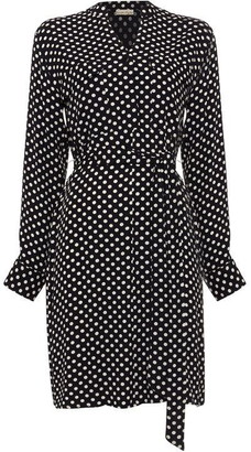 Phase Eight Keiko Spot Button Dress