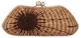 Kayu Ada Wicker Clutch