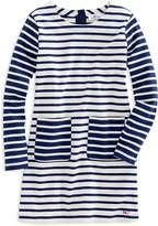 Vineyard Vines Girls' Mixed Stripes Shift Dress