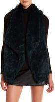 Jolt Faux Fur Cascade Vest (Juniors)