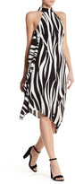 Karen Millen Oversize Graphic Zebra Print Dress