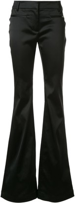 Tom Ford Satin Effect Flared Trousers