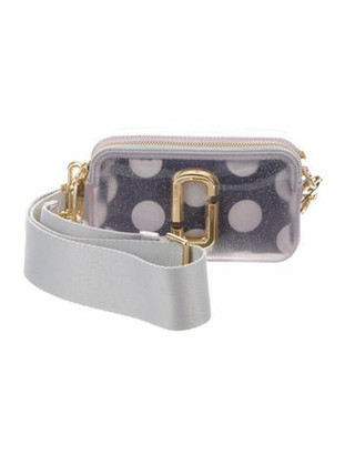 Marc Jacobs Jelly Snapshot Camera Bag Clear