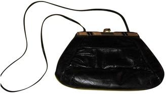 Judith Leiber Black Exotic leathers Handbags