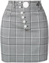Alexander Wang check button skirt
