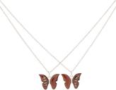 Accessorize 2 X Bff Butterfly Moodstone Pendants