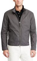 Polo Ralph Lauren Barracuda Cotton Twill Jacket, Charcoal Grey