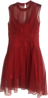 Carven Red Polyester Dresses
