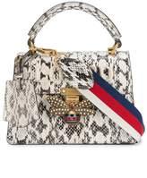 Gucci Queen Margaret snakeskin top handle bag