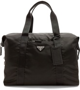Prada Top-handle nylon weekend bag