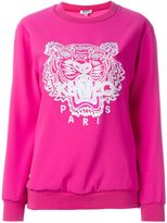 Kenzo 'Tiger' sweatshirt - women - Polyester/Triacetate - L